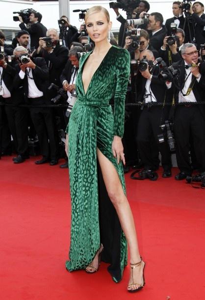 natasha poly in gucci, filmfestival van Cannes 2012