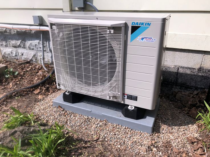 Daikin FIT horizontal discharge air conditioner installed