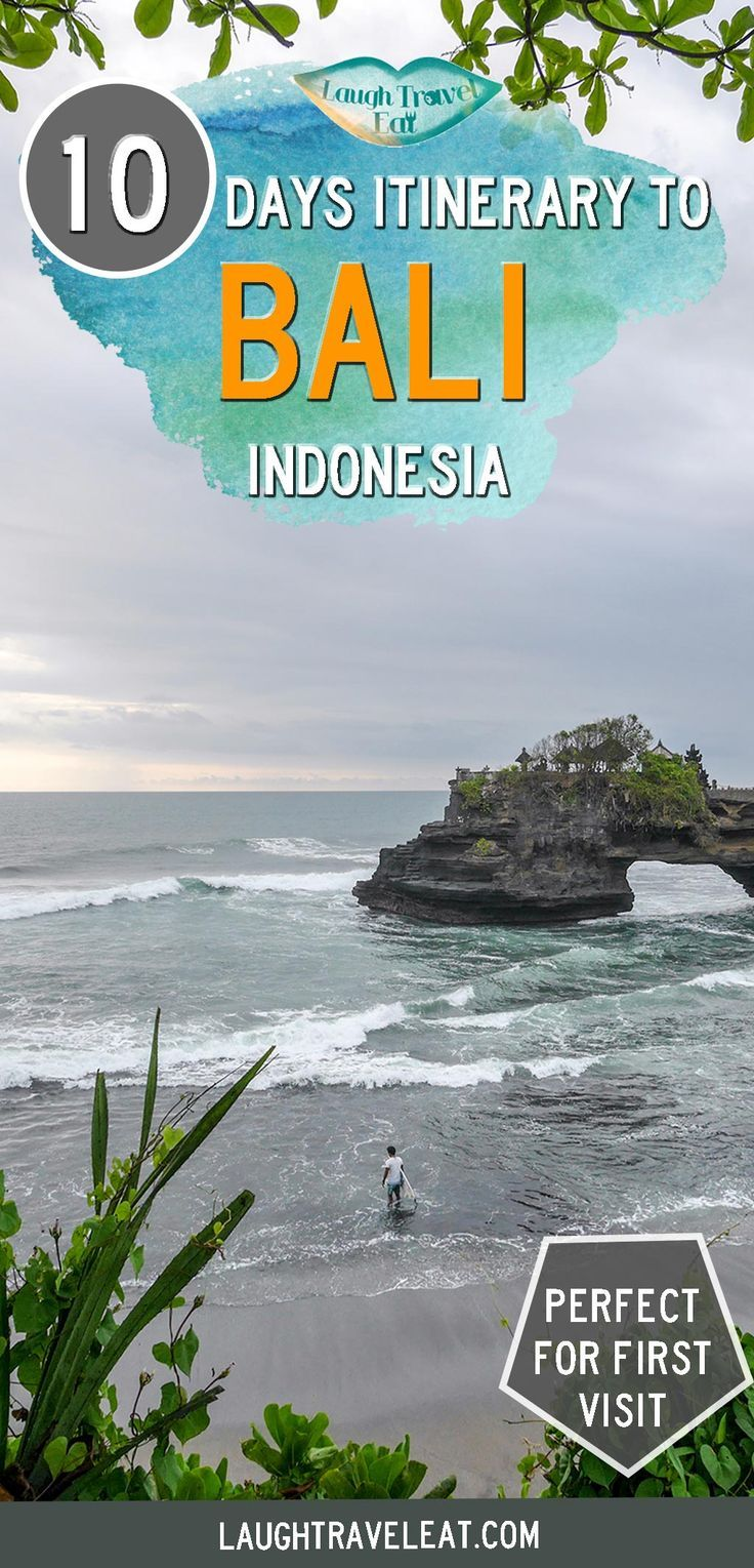 Bali itinerary 10 days of adventure for first time