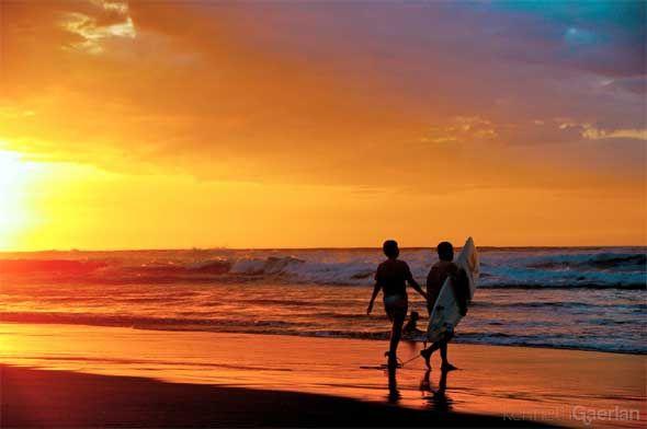 San Juan, La Union is the best surfing destination north of the Philippines.