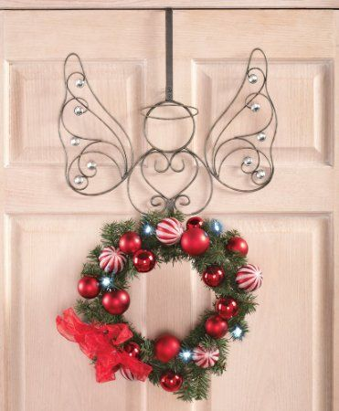 Scrolling Angel Wreath Hanger