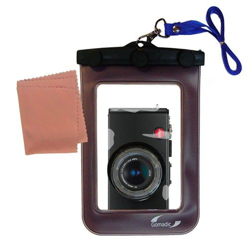 Leica D-LUX 4 compatible Gomadic Weatherproof Case Protection Designed Camera with Unique FloatableDesign ** For more information, visit image link.