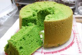 「ヘルシーレシピ 小松菜シフォン」気まぐれレシピ   お菓子・パンのレシピや作り方【corecle*コレクル】