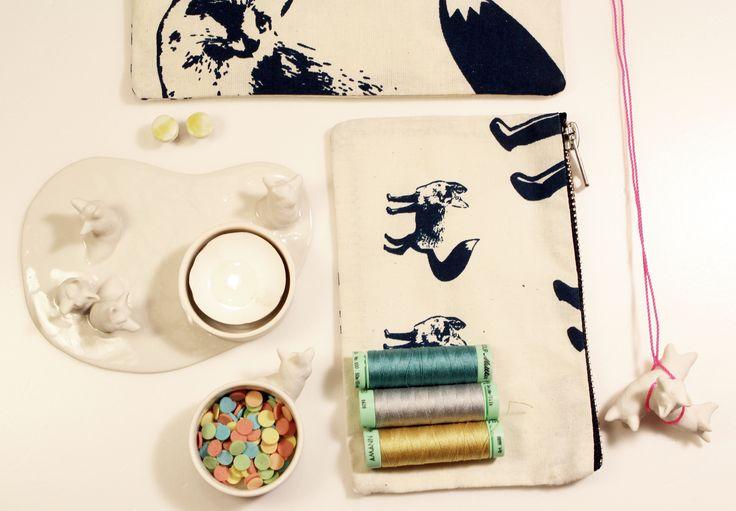 ceramics and textile print