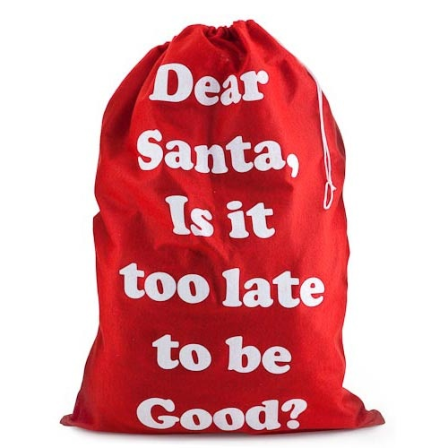 'Dear Santa' Present Sacks | Poundland