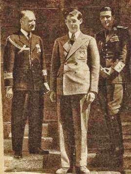 Voevodul Mihai si mentorul sau comandorul Fundateanu