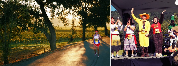 Wine Country Half Marathon - running this too! It's going to be a beautiful course!