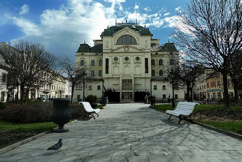 beautiful National Theatre in Kosice by ri3s, via Flickr
