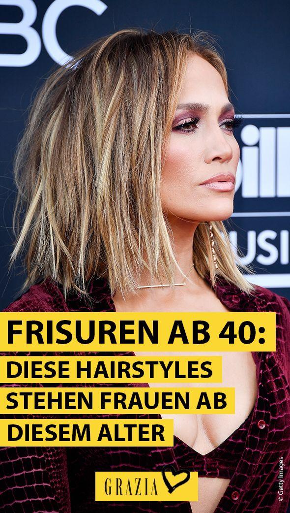 Diese Frisuren Stehen Allen Frauen Ab 40 Frisur Ab 40 Haar Styling Perfekte Frisur
