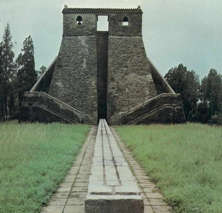 Gaocheng Astronomical Observatory, also known as the Dengfeng Observatory, built in 1276, near Dengfeng in Henan Province, China.