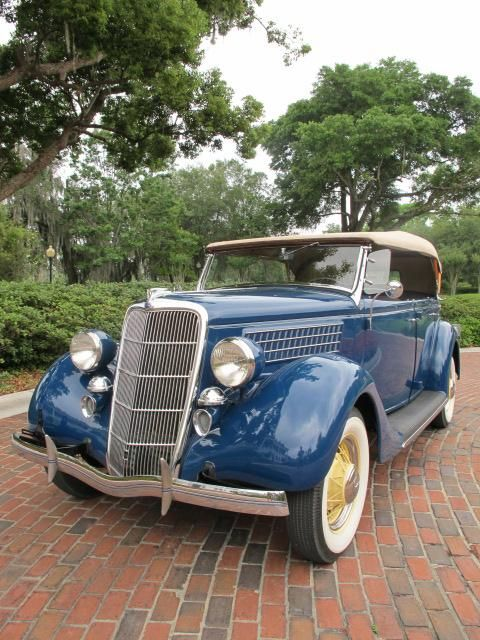 1935 Ford Phaeton Convertible...if only I had the money to start my old car collection!!