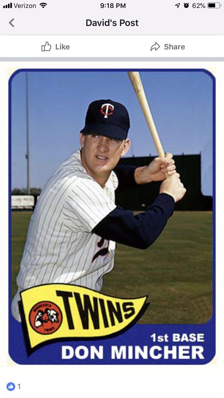Pin by Matt Perry on Baseball Cards Minnesota twins
