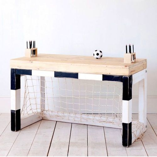 A boys dream this Football desk!                                                                                                                                                                                 More