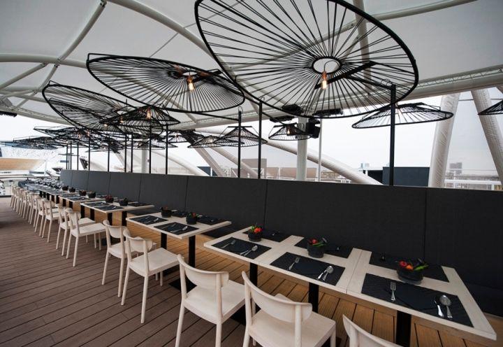 Besame Mucho Restaurant Lighting by Ricardo Casas Design at Milan Expo 2015, Mexico Pavilion, Milan – Italy » Retail Design Blog