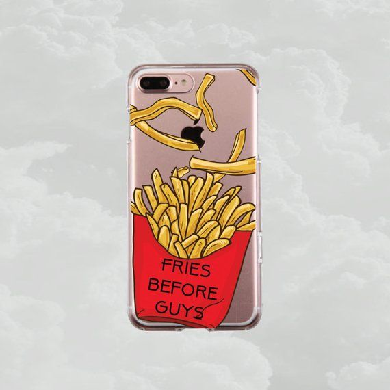 French Fries Pattern iPhone 11 case