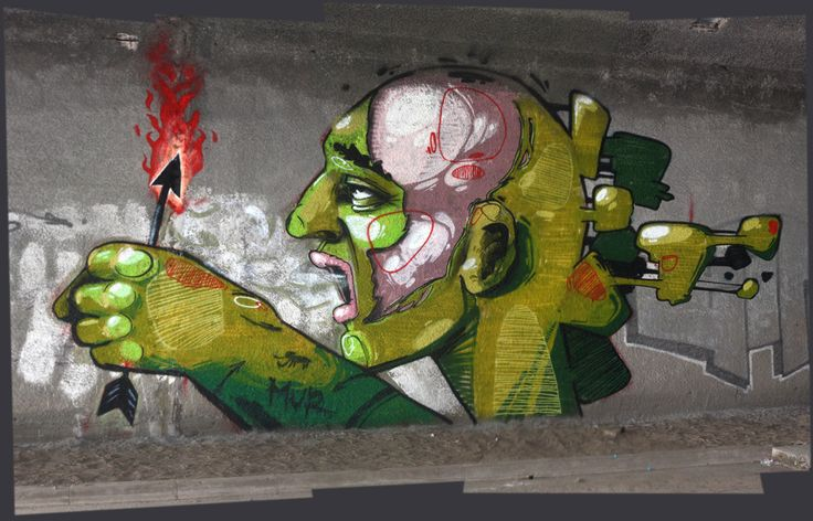 East Side Street Art Białystok, Poland 2013 MUR crew