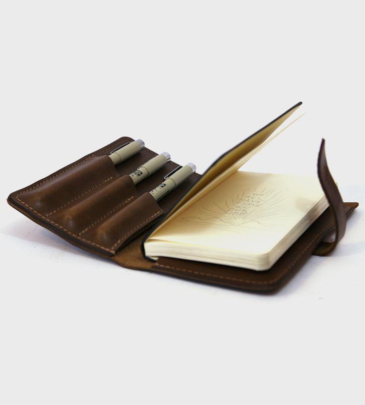 Journeyman Leather Notebook Kit