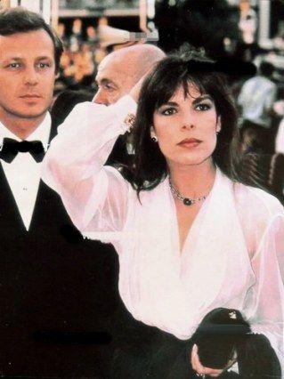 Stefano Casiraghi and Princess Caroline de Monaco