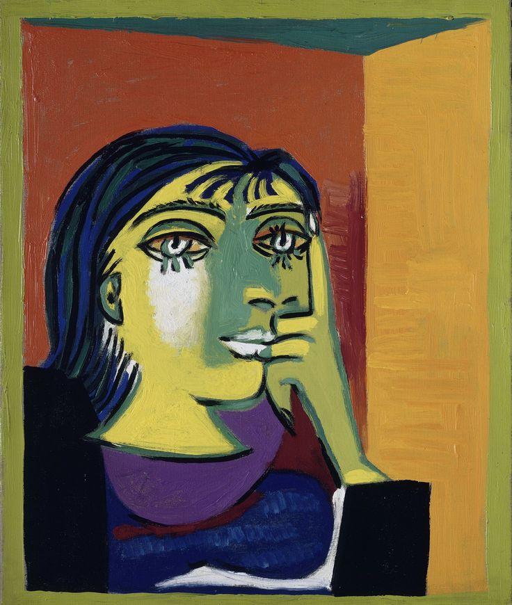 "Pablo Picasso, ""Portrait de Dora Maar"" RMN-Grand Palais Musée Picasso de Paris"