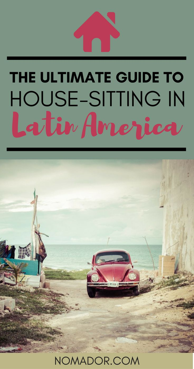 All you need to know about house-sitting in Latin America. It includes Costa Rica, Panama, Ecuador, Mexico... House Sitting tips | House Sitting jobs