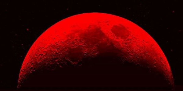 """#BloodMoon Keep an eye out on April 15th! A lunar eclipse will soon be on the way with a unique twist. A """"blood red"""" moon will be created during these total lunar eclipses which will bathe it in a glow that looks, as its name would imply, blood red. This is to be the first of four """"blood red"""" moon eclipses over the next year and a half. -  4/2/14"""