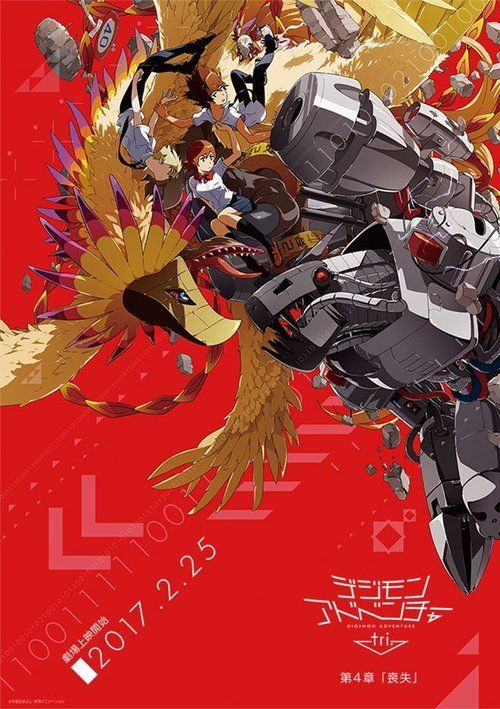 Digimon Adventure Tri. - Chapter 4: Loss Full Movie Online 2017