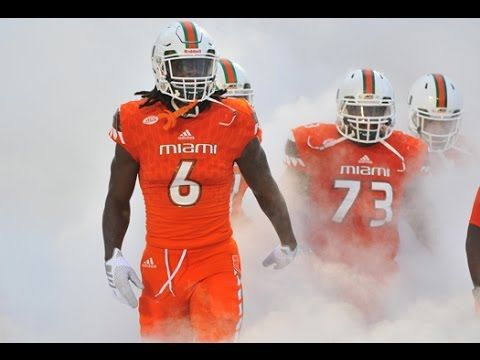 "Miami Hurricanes - 2016 Season Schedule - ""GROWN MAN BUSINESS"""