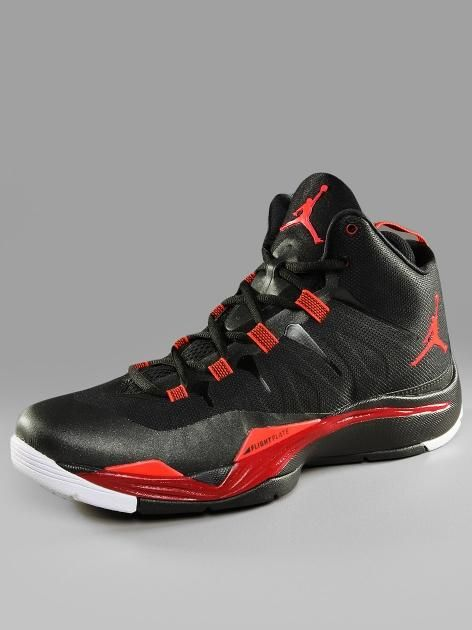 #Jordan #Super.Fly 2 #Black #Bright #Crimson #Gym #