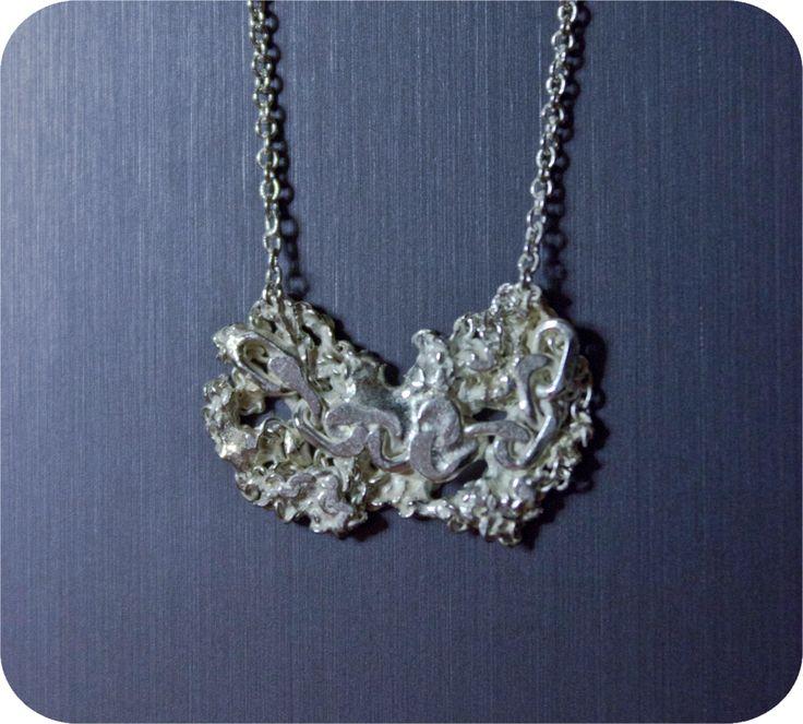 Designer necklace by Gizellab jewelry  (Zsófi Biro) http://www.budapestwithus.hu/heinrich-alkotoi-szint/