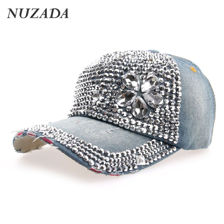 womens baseball caps with bling ladies big flowers