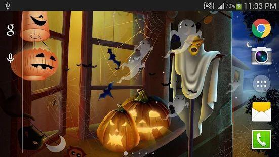 Halloween Live Wallpaper (PRO)– Vignette de la capture d'écran
