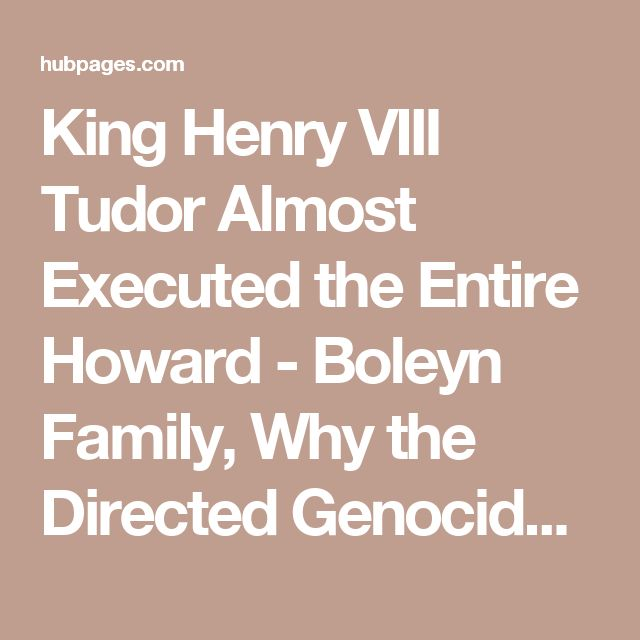 why is king henry viii so Guests on our walking tours always seem to have a special interest in king henry viii so here are some things you didn't know about king henry viii.