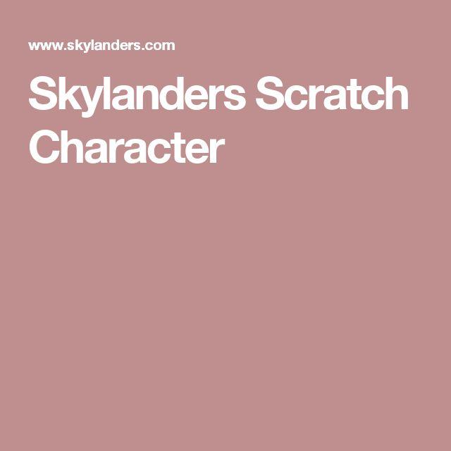 Skylanders Scratch Character