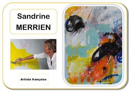 Portrait d'artiste - Sandrine Merrien
