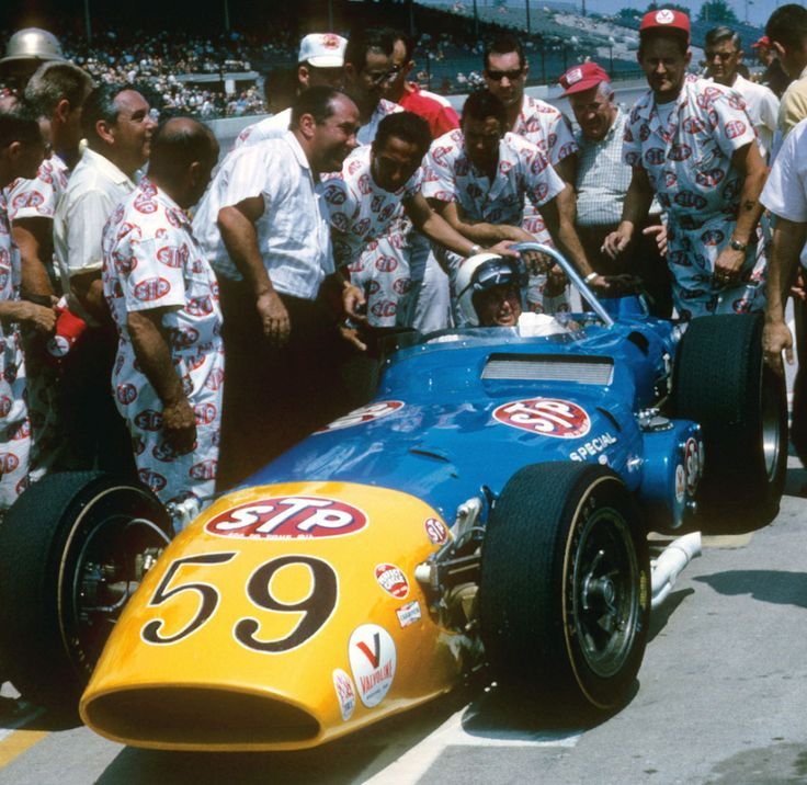 Jim Hurtubise Amp Andy Granatelli With Novi Indy And