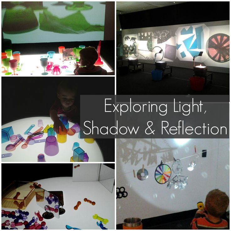 light, shadow, reflection, reggio, light table, ipswich art museum
