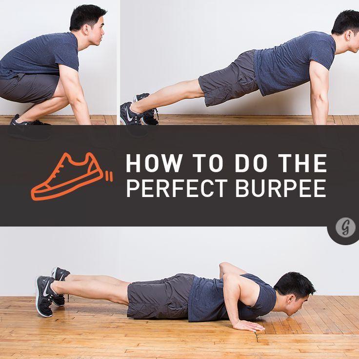 How to Do the Perfect Burpee | http://snip.ly/rEjV