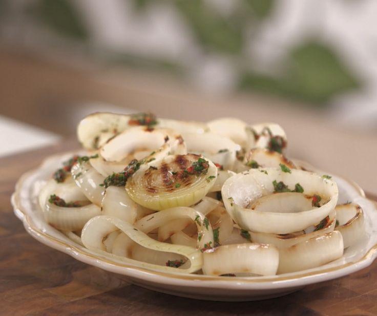 Salada de Cebola Grelhada