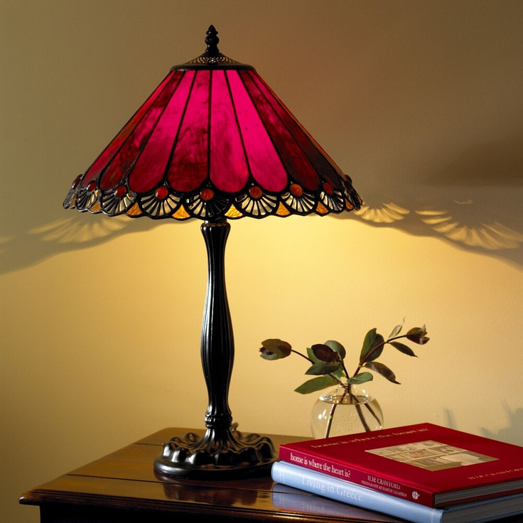 This was the Red Satine. One of the best lamps we ever sold, and sold and sold.... Then one day, we went to order it and it was gone, forever.