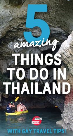 5 amazing things to do in Thailand... from sea kayaking to Bangkok nightlife!