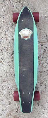 VINTAGE 70'S G&S FIBREFLEX SLALOM SKATEBOARD TRACKER KRYPTONIC dogtown,alva,sims