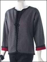Sewing Sweatshirt Jackets | Sweatshirt Jacket Patterns