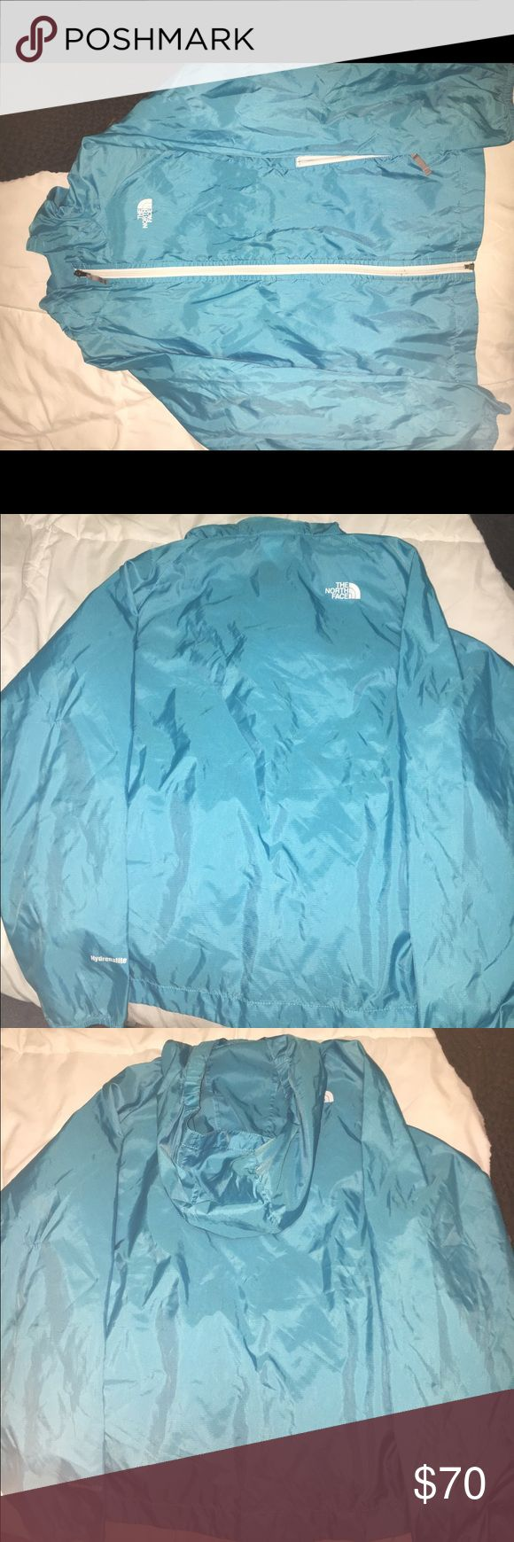Child's Blue North Face Windbreaker **KIDS SIZE**Thin material, Like New Condition. The North Face Jackets & Coats Raincoats