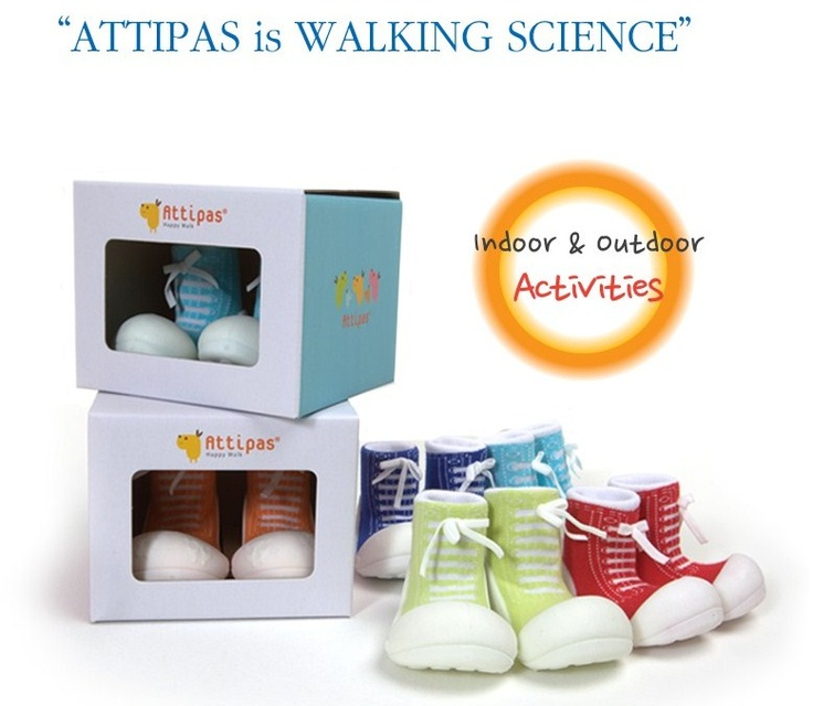 Attipas is Walking Science!