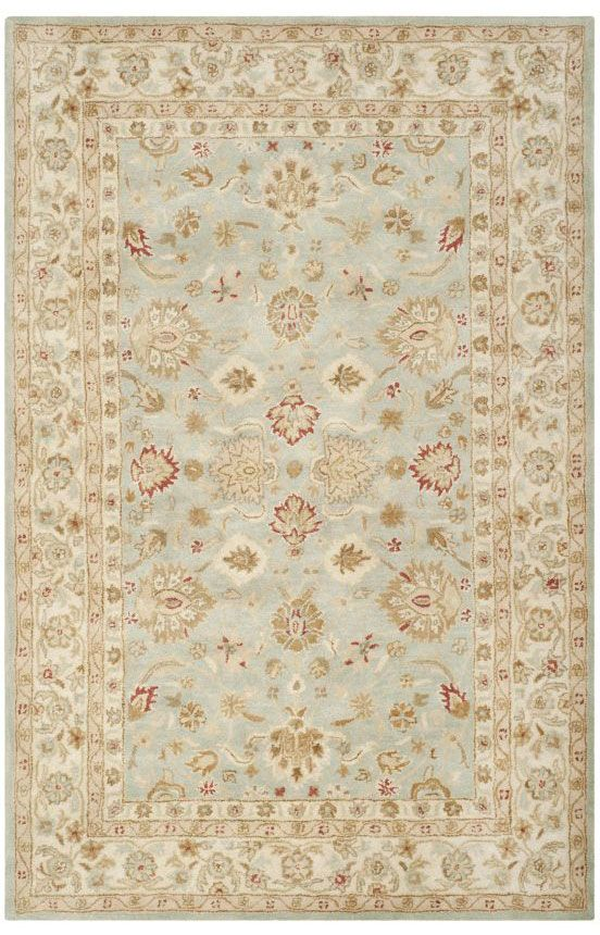 Safavieh Antiquity AT822 Grey Blue Beige Rug | Traditional Rugs #RugsUSA