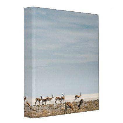 Plains Zebras   Equus Burchellii 3 Ring Binder - plain gifts style diy cyo