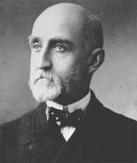 "Alfred Thayer Mahan, AHA president 1901-02.  His presidential address, ""Subordination in Historical Treatment,"" can be read here: http://www.historians.org/info/AHA_History/atmahan.htm"