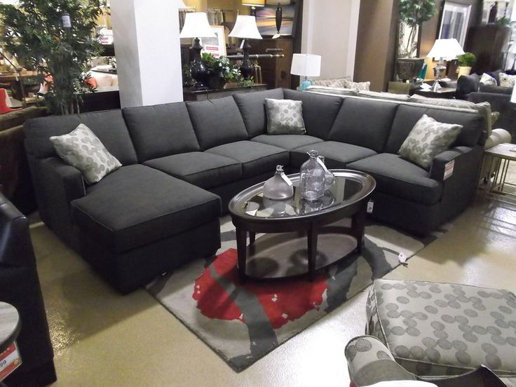 Clearance living room 3 pc dillon sectional cek29000als for Walter e smithe living room