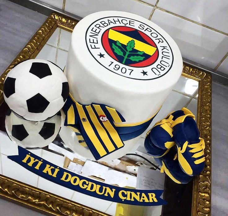 #fenerbahçe #team #football #birthday #cake