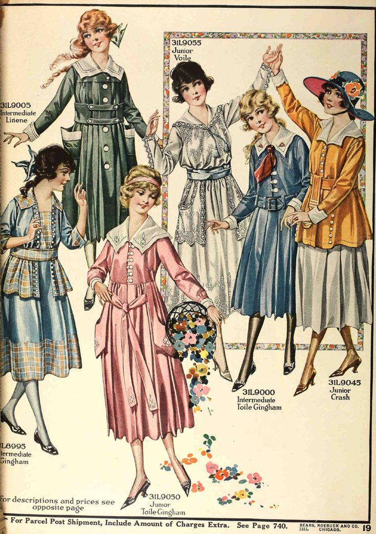 1920's Girls' Dresses